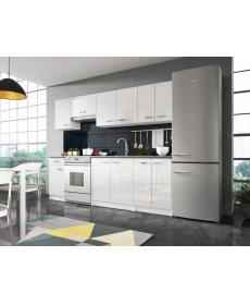 ONYX konyha fehér/fényes fehér több méretben