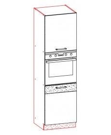 Modena konyha ALSÓ szekrény VÁZ több típusban