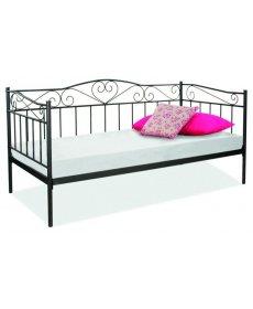 BIRMA ágy 90x200 fekete