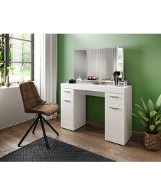 DAMA TYP 012 fésülködő asztal fehér/fényes fehér