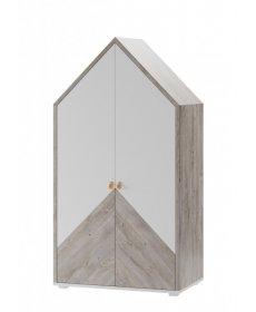 DOMINI 03 szekrény tölgy ribbeck/fehér