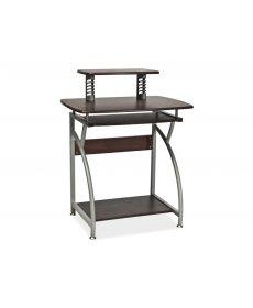 B-07 íróasztal sötét barna