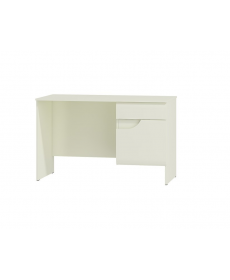 BRYZA BRB-1C (íróasztal) fehér/fehér fényes