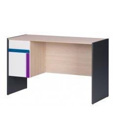IKAR 40 (íróasztal) fehér/grafit/fenyő AVOLA