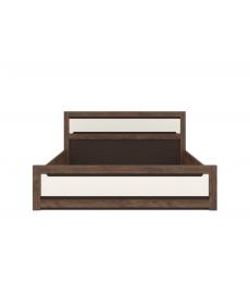 ERIKA 012 ágy 160 tölgy texas/világos szürke
