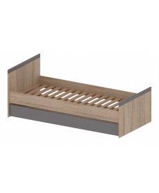 MADAGASKAR ágy 90 sonoma tölgy/grafit