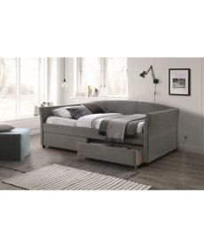 LANTA kanapéágy 90x200 szürke