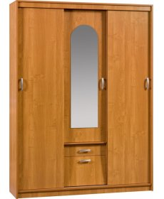 ALEKSANDER 4 (szekrény tükörrel) több színben