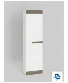 BLANCO 19 (szekrény) fehér fenyő/New Grey