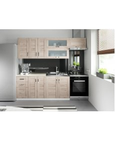 WEGA konyha ALSÓ szekrény elem fehér/sanremo