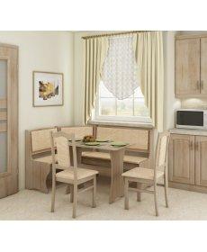 Konyhai sarok étkezőgarnitúra székkel A