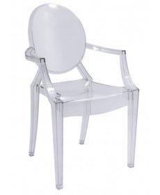 LUIS szék átlátszó