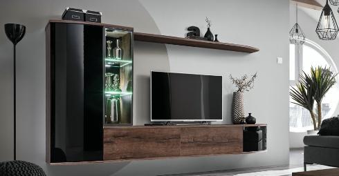 Nappali szekrénysorok